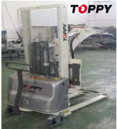 01 Roll turner Mod. TOPPY WEB 300