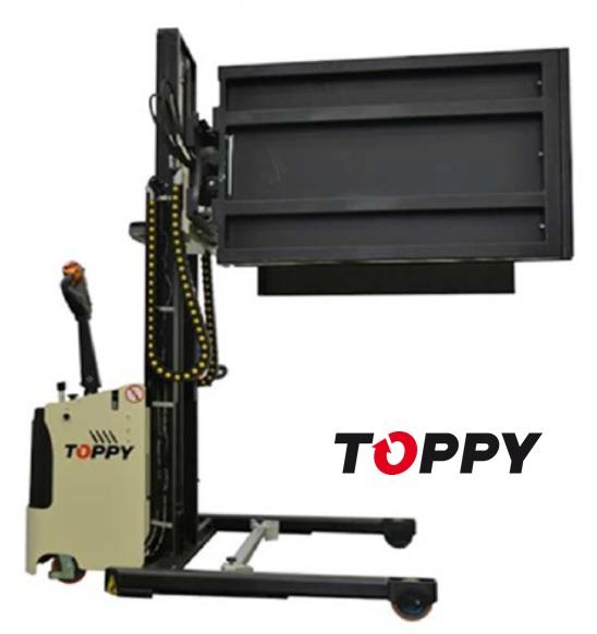13 TOPPY Side Press H.1400 pallet charger & splitter