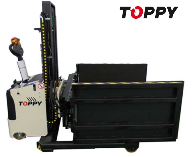 14 TOPPY Side Press H.1400 WB pallet charger & splitter