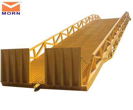 Forklift-ramp