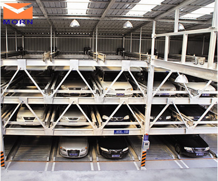 Four-levels-vertical-horizontal-auto-parking-system