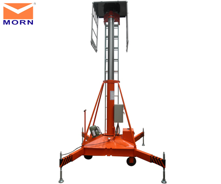 Telescopic-hydraulic-aerial-lift-10m