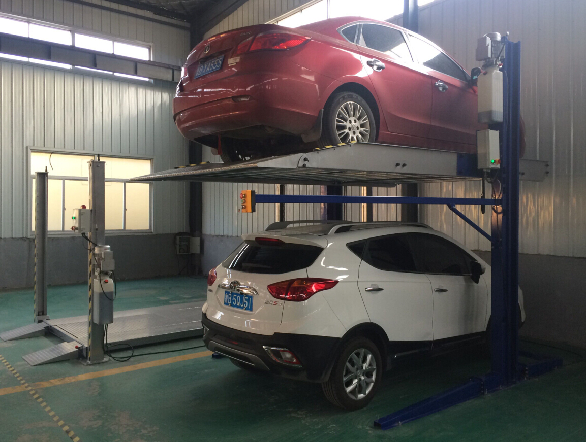 car lift after installation (3)