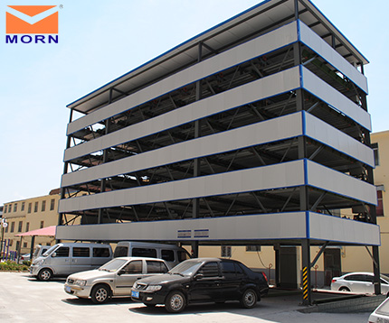 six-level-automatic-car-parking-system
